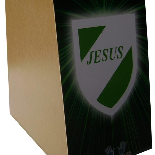 Cajón inclinado Gospel decoração 01